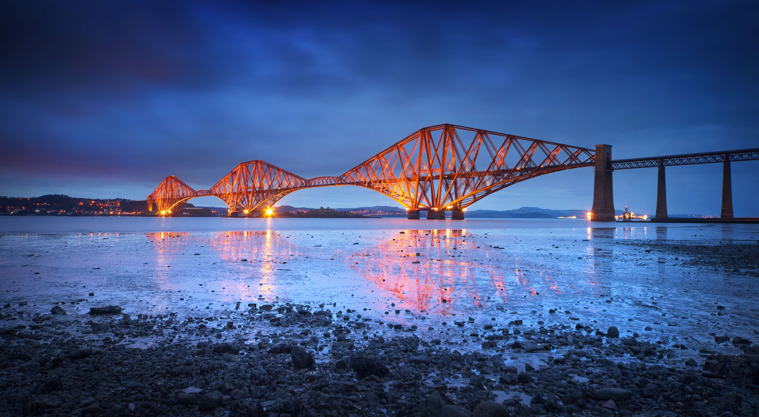 Edinburgh Forth Rail Bridge