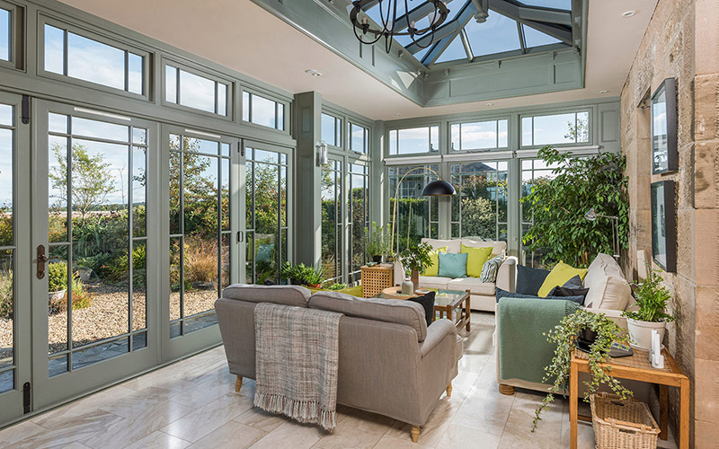 Conservatory Interior Photography